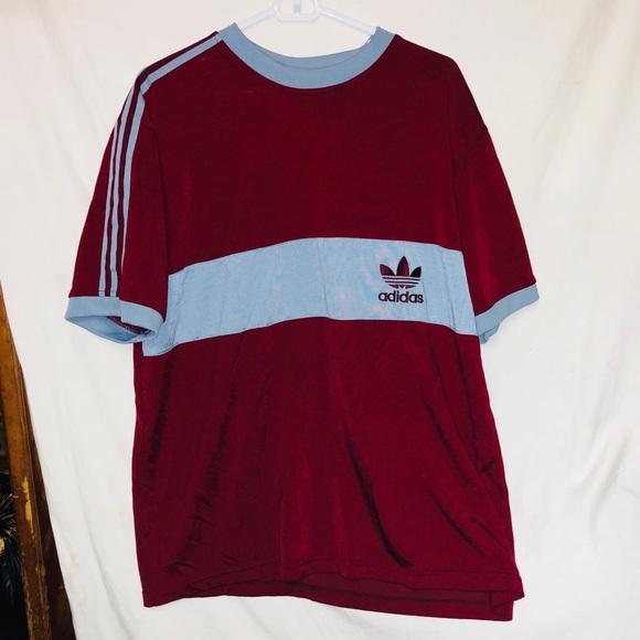 c89ac78cadc3 adidas Shirts   Mens Large Vintage Tee Shirt   Poshmark